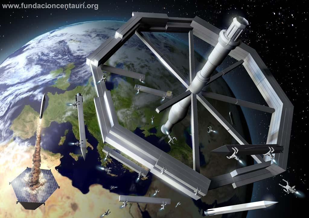 Modelo de estacion espacial