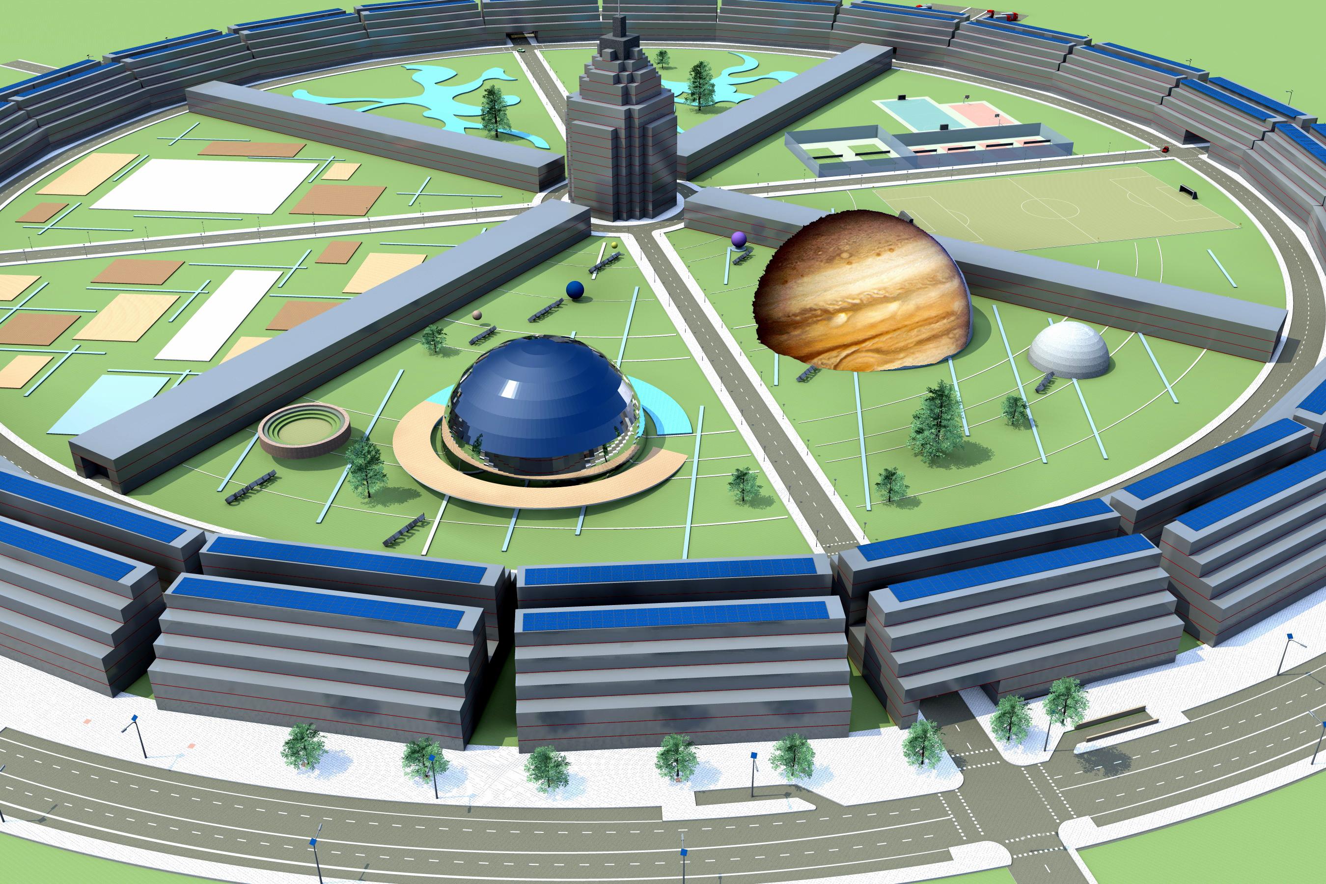 Modelo de Planta Urbanización Centauri